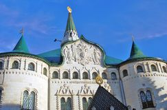 Historic building of the bank in Nizhny Novgorod, Russia Stock Images