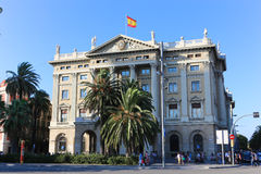 Historic building in Barcelona, Spain. Royalty Free Stock Photography