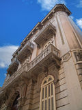 Historic building in Bari. Apulia. Royalty Free Stock Images
