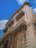 Historic building in Bari. Apulia. Royalty Free Stock Images
