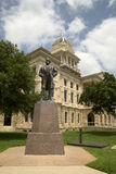 Historic building Bell County courthouse Royalty Free Stock Photography