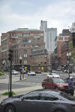 Boston Ma, 30th June: Historic Building from Boston downtown in Massachusettes State of USA Royalty Free Stock Photos