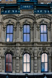 Historic building. Historic brick building with arched windows Royalty Free Stock Photography