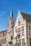 Historic Building in Bruges Royalty Free Stock Photography