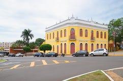 Historic building from Campo Grande MS called Morada dos Bais. Campo Grande, Brazil - February 24, 2018: Historic building from Campo Grande MS called Morada dos Stock Images