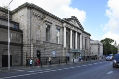Historic building in the center of Dublin Stock Photo