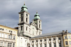 Historic building in the center of Linz Royalty Free Stock Photos