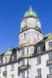 Historic building in the center of Oslo Royalty Free Stock Photography
