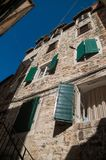 Historic building in the center of split Stock Image