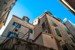 Historic building in the center of split Stock Photography