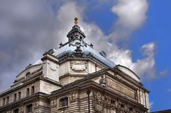 Historic building in Central London. Details of historic building in Central London. UK Royalty Free Stock Photography