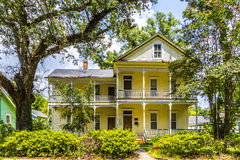Historic building in the Charpentier District of Lake Charles Royalty Free Stock Photo