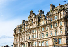 Historic building in the city centre of Edinburgh Royalty Free Stock Images