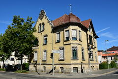 A historic building in Coburg, Germany Royalty Free Stock Images