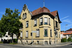A historic building in Coburg, Germany Stock Photography