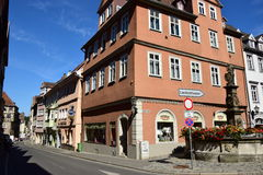 A historic building in Coburg, Germany Stock Photos