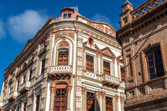 Historic Building in Cuenca, Ecuador Royalty Free Stock Photography