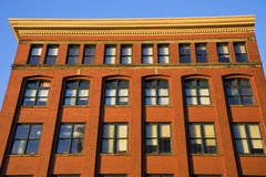 Historic building in downtown Cleveland royalty free stock images