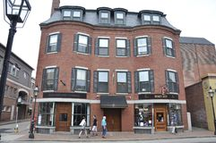 Portsmouth, 30th June: Historic Building from Downtown Portsmouth in New Hampshire of USA Stock Photo