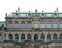 Historic building in Dresden Royalty Free Stock Photo