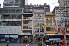 East 23rd Street, Manhattan, New York City. Historic Building on East 23rd Street at Madison Avenue in midtown Manhattan, New York City, USA Stock Images