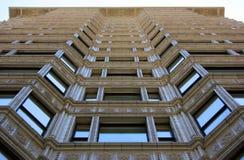 Historic building facade. In Chicago, Illinois Stock Photos