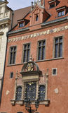 Historic Building facade in Prague Czech Republic Royalty Free Stock Photo