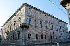 Historic building in Ferrara (Italy) Royalty Free Stock Photography