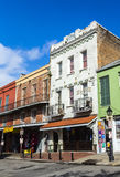 Historic building in the French Quarter in New Orleans Royalty Free Stock Photography