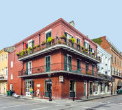 Historic building in the French Quarter in New Orleans Royalty Free Stock Photos