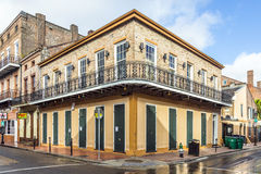 Historic building in the French Quarter royalty free stock photography