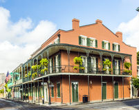 Historic building in the French Quarter royalty free stock images