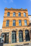 Historic building in the French Quarter royalty free stock photos