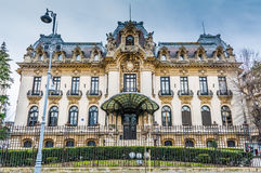 The historic building of George Enescu Museum Stock Photography