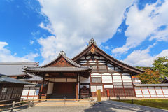 Historic building in golden pavillion Kinkakuji temple at Kyoto. Japan Stock Image