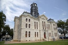 Free Historic Building Granbury Courthouse TX Royalty Free Stock Images - 99378539