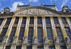 Historic Building on Grand Place in Brussels Stock Photography