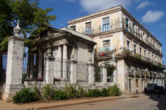 Historic building in Havana Royalty Free Stock Images