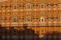 The Historic Building of Hawa Mahal Stock Images