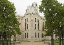 Historic building Hill County Courthouse Royalty Free Stock Photos