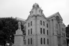 Historic building Hill County Courthouse in TX Royalty Free Stock Image