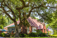 Free Historic Building In The Charpentier District Of Lake Charles Stock Photo - 42549420