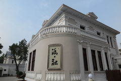 The historic building of Italian Style Street in Tianjin Stock Photo