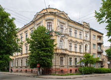 Historic building in the Ivano-Frankivsk Stock Photography
