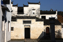 Historic building in Jiangwan village Stock Photography