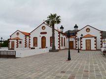 Historic building in La Ampuyenta on the island Fuerteventura Stock Photos
