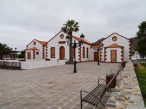 Historic building in La Ampuyenta on the island Fuerteventura Stock Photography