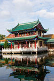 Historic building by the lake,kunming,yunnan ,chin Royalty Free Stock Photo