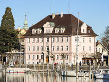 Historic building Lindau. Historic building at the harbour of Lindau, lake constance, Germany Stock Image