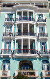 Historic building located at Thessaloniki city in Greece Royalty Free Stock Photos